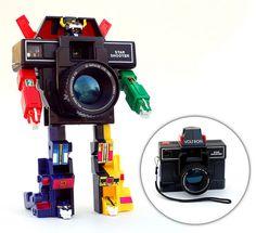 transformer camera