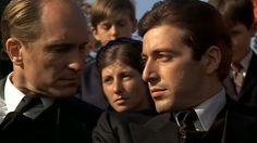 """Tom Hagen (Robert Duvall): """"Tessio. I always thought it would be Clemenza.""""  Michael  Corleone (Al Pacino): """"It's the smart move. Tessio was always smarter.""""   The Godfather (1972)"""