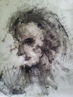 Silence Drawing by Anne Marie Tangen