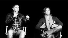 Jared and Jensen dancing to a ringtone gif