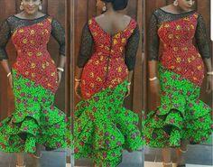 African dresses for women/Ankara dress/african wedding dress/African traditional clothing/African dresses for women/African women clothing at Diyanu Ankara Styles For Women, African Dresses For Women, African Print Dresses, African Print Fashion, African Attire, African Wear, African Fashion Dresses, African Women, Modest Wedding Dresses