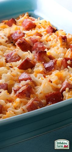 No summer BBQ is complete without themed appetizers, and this delicious Cheesy Potatoes with Smoked Sausage recipe takes no time at all to prepare! Find this recipe and more Hillshire Farm® Smoked Sausage inspiration here!