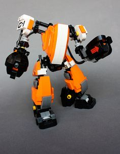 Orange mech | mmm orange | Aaron Williams | Flickr