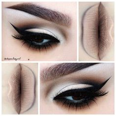 Blackest Black liner and lashes!