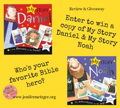 Win 2 My Story Bible Heros books for children! #giveaway #BIblehero