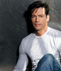 Harry Connick, Jr. He can sing to me anytime....