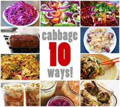 nom nom paleo's cabbage 10 ways! I love cooking with cabbage, it's filling, cheap and a veggie!