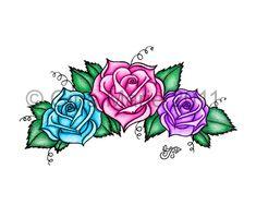 Magic Roses Tattoo