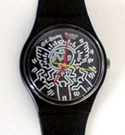 Keith Haring Swatch Watch- classic black & white - love it!