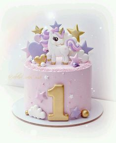 1st Birthday Cake For Girls, Cute Birthday Cakes, Beautiful Birthday Cakes, Fondant Cake Designs, Fondant Cakes, Christening Cake Girls, Cake Templates, Novelty Cakes, Girl Cakes
