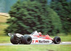 John Watson (MacLaren-Ford) Grand Prix d'Autriche - Österreichring 1979 - AUTOhebdo août 1979.