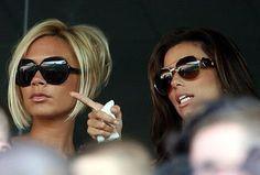 Victoria Beckham and Eva Longoria - victoria-beckham Photo.. LOVE Victoria's haircut!!!!!