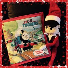 Elfie finished a Thomas the train soft fabric book today for a special order! Forgot how fun these books are to make! Maybe Elfie should make others! #pmscrafts #pmscrafts74 #elfie #thomasthetrain #fabricbook #Fabulous