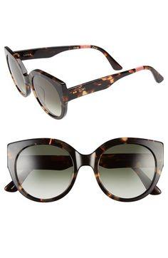 3fdab5dbcbea3 TOMS  Luisa  54mm Retro Sunglasses available at  Nordstrom Animais,  Acessórios Da Jóia