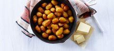 Brunede kartofler
