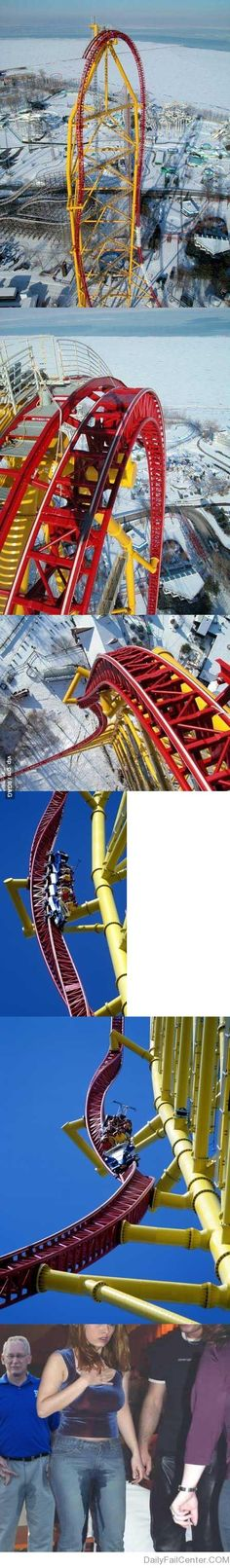 Not sure I'd pee myself but that's only cuz I don't think I could get on it. I'm an adrenaline junkie but OH-MY-GOD!