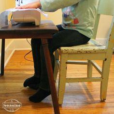 Tiny Sewists: Teaching Kids to Sew :: Setup and Safety - A Jennuine Life