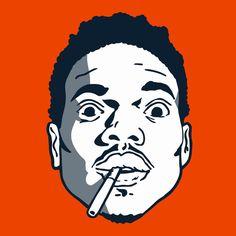 Hip Hop Art - Chance the Rapper  www.loyallisteners.net