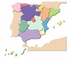 Mapa de España interactivo - Didactalia: material educativo Spanish Classroom, Teaching Spanish, Cultural Crafts, Spanish Speaking Countries, Country Crafts, How To Speak Spanish, Culture Travel, Social Studies, Learning