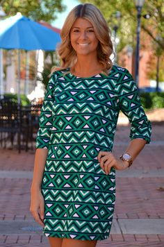 Caught Ya Looking dress, green – Chapter 2 Boutique