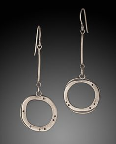 Earrings by Betty McKim