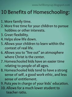 10 Benefits of Homeschooling He Fills My Cup : Why and When We Decided to Homeschool (Tried and True! Well adjusted, an asset to society and a tremendous blessing to their parents! Education Quotes, Kids Education, Learning Quotes, Learning Activities, Classical Education, Primary Education, Education System, Learning Tools, Educational Activities