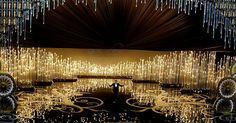 2013 Academy Awards - Derek McLane. OMG. Amazing installation. Wow.