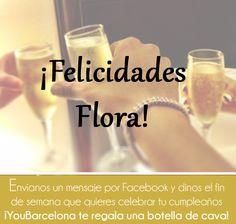 ¡Felicidades Flora! #YouBArcelona