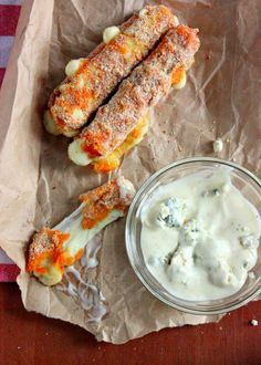 Buffalo Cheese Sticks