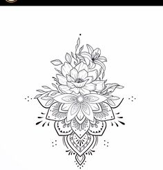 Lotus Mandala Tattoo, Mandala Flower Tattoos, Mandala Tattoo Design, Cool Forearm Tattoos, Cute Tattoos, Beautiful Tattoos, Floral Tattoo Design, Flower Tattoo Designs, Mandela Tattoo