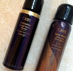 perfectly touseled beach waves with oribe surfcomber!