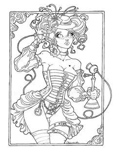 sexy coloring pages for adults - Google Search
