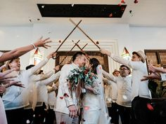 Check Out This Fun Filipiniana Wedding with All Its Traditional Beauty! Filipiniana Wedding Theme, Tagaytay Wedding, Bride And Breakfast, Filipino Culture, Groom And Groomsmen Attire, Vintage Wedding Theme, Wedding Blog, Wedding Ideas, Dance The Night Away