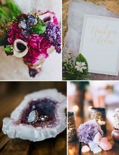 Geode Wedding Ideas / http://www.himisspuff.com/geode-wedding-ideas/