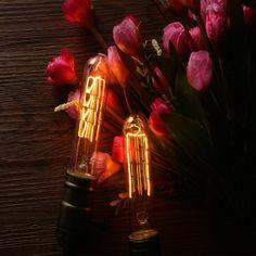 Edison Bulbs for Home Vintage Light Bulbs, Vintage Lighting, Edison Bulbs, Dimmable Light Bulbs, Light Fixtures, Antiques, Vintage Lamps, Antiquities, Antique