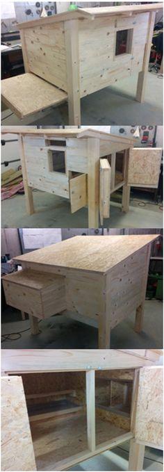 Build chicken coops yourself our building instructions Heimwerkerkniffe.