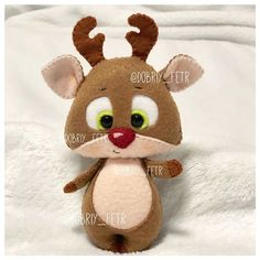 1 million+ Stunning Free Images to Use Anywhere Felt Animal Patterns, Felt Crafts Patterns, Stuffed Animal Patterns, Felt Embroidery, Felt Applique, Felt Christmas Ornaments, Christmas Crafts, Felt Baby, Felt Toys