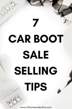 812eba1c442 It s car boot sale season again! I look forward to this every year. As