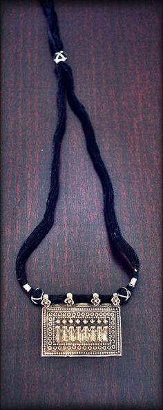 India Hindu Amulet Sapta Matrika Necklace by COSMIC NORBU