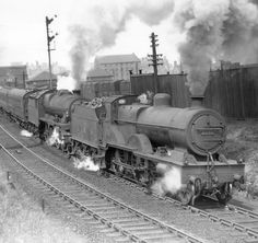 LMS 1140 / BR 41140 4-4-0 Double Heading