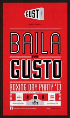GUSTO Entertainment 2nd Annual Boxing Day Party - TorontoDance.com
