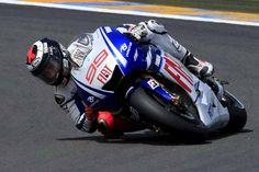 Motorbike racing low