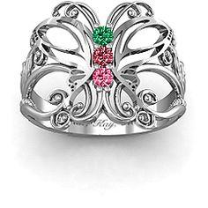 Precious Butterfly Ring #jewlr