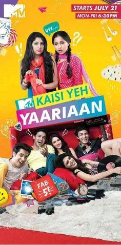 The fun n emotion n love starts now n here ohhhh its so much fun ...in the serial ###kesi yeh yaariaan###