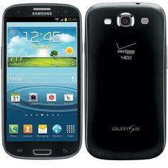 Samsung Galaxy S3 Smartphone Sapphire Black - Verizon Unlocked: Rough Shape