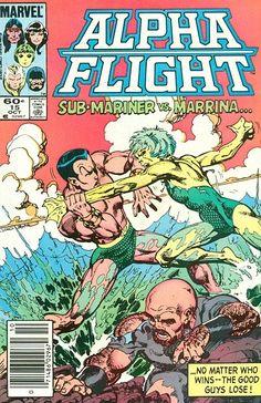 Alpha Flight # 15 by John Byrne
