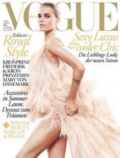 Vogue magazine covers - mylusciouslife.com - Maryna-Linchuk-for-Vogue-Germany-January-2011.jpg