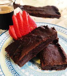 Brownie de Batata Doce e Espelta