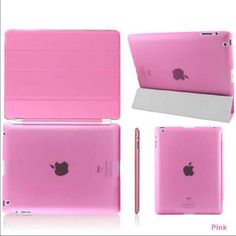 Stand Magnetic Slim Leather Case iPad Mini 1/2/3/4 Stand Magnetic Slim Leather Case iPad Mini 1/2/3/4 2 in 1 fashion flip magnetic smart case  Condition: Brand new Color: Rose Price:$16 Accessories