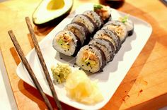 Spicy Crab Sushi Rolls - step-by-step photos make it easy! #RecklessAbandon